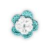 Fiore all'Uncinetto - Tiffany e Bianco