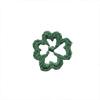 Green quatrefoil